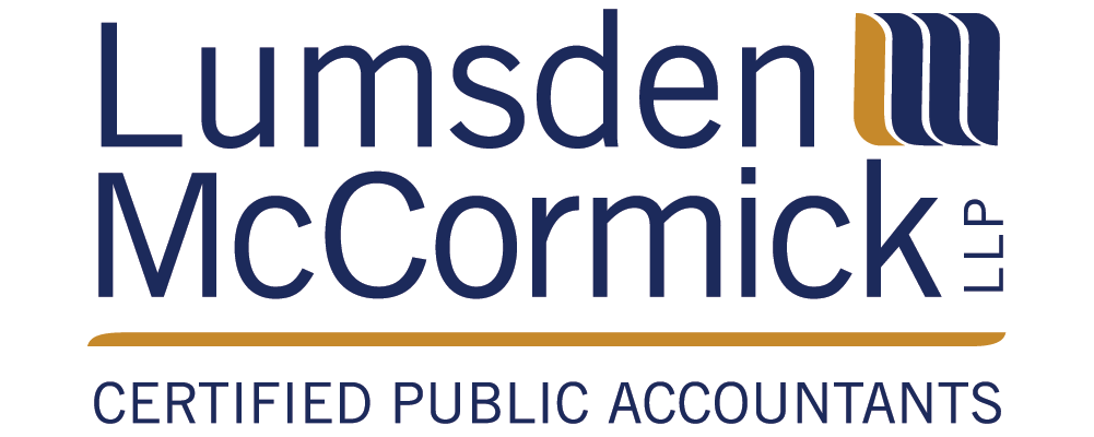 Lumsden McCormick logo