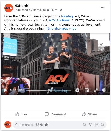 ACV IPO 43North